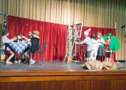 Parchimer Kinder spielen Theater